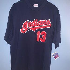 Brand New Vintage 90s Cleveland Indians T-shirt